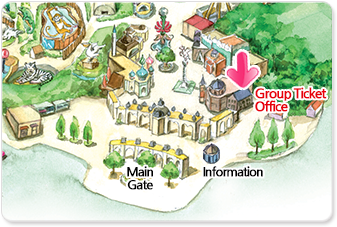 Group Ticket Office(Map)